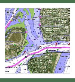 Bluechart G3 Vision HD América del Sur - Costa Oeste
