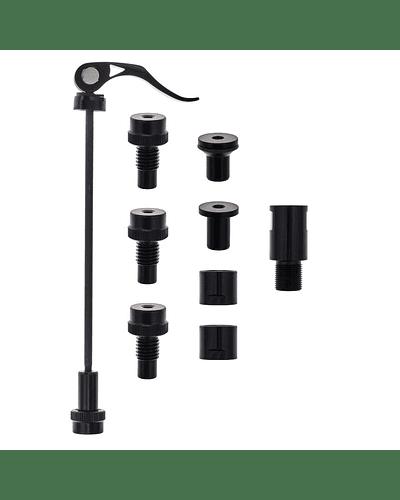 Kit adaptador de eje para rodillos Tacx FLUX y NEO