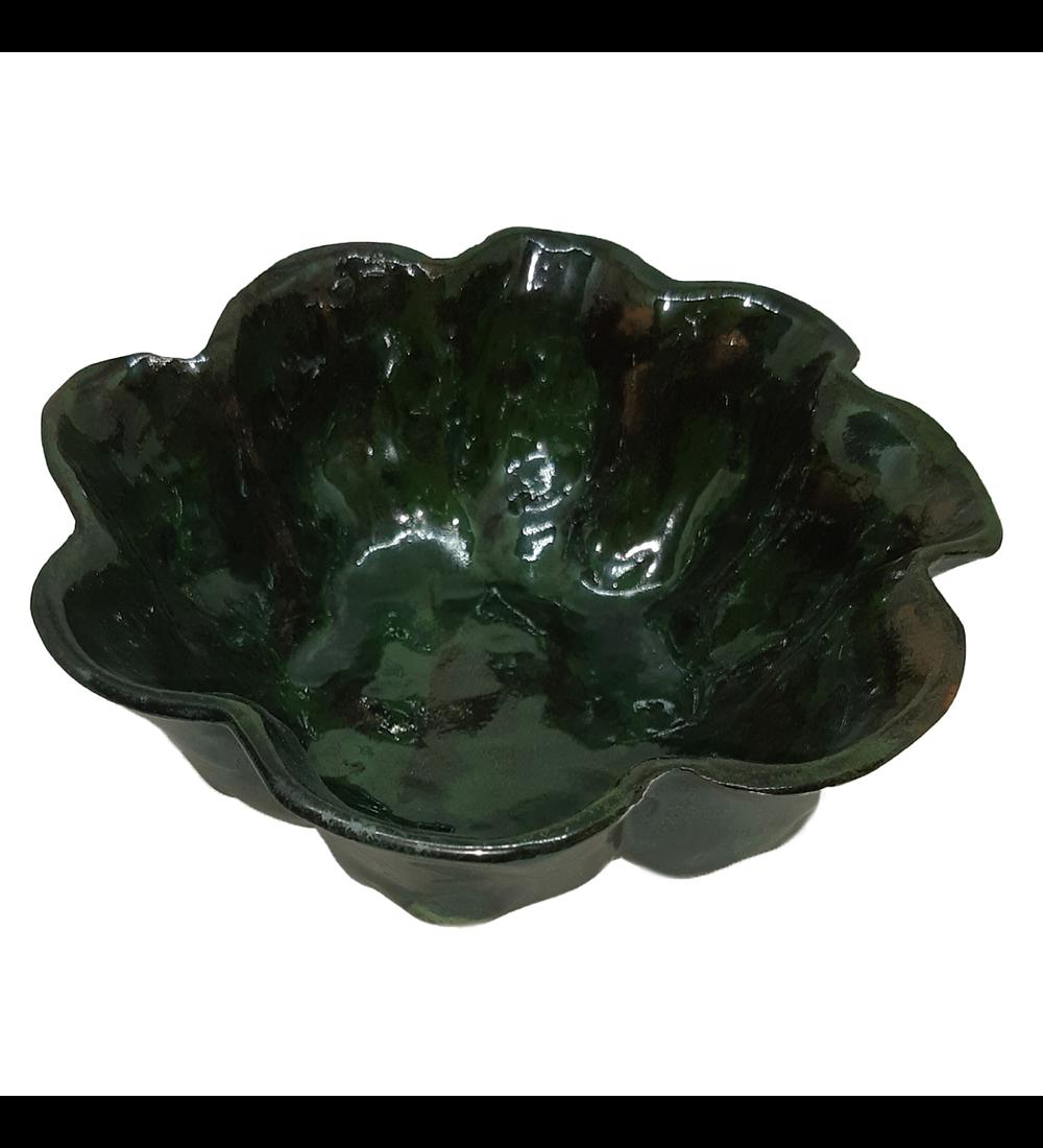 Bandeja irregular cerámica diseño cactus