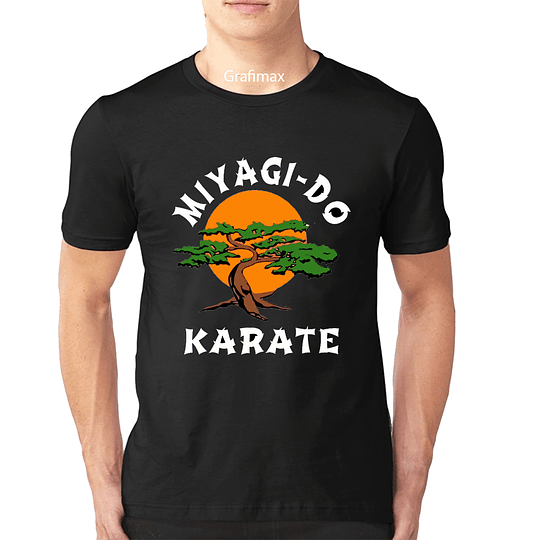 Polera Cobra Kai Migagy Do KARATE Serie Karate Kid Retro Grafimax