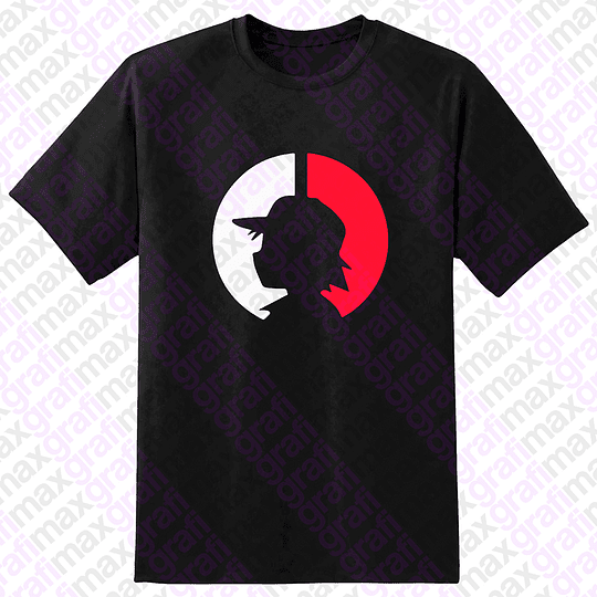 Polera Pokémon Ash Pokeball Pokebola Grafimax