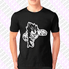 Polera Dragon Ball Vegeta Super Esténcil Grafimax