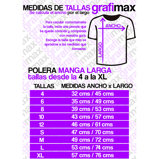 Polera Manga Larga Planet Express Futurama Grafimax