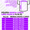 Polera Manga Larga One Piece Monkey D. Luffy Anime Grafimax