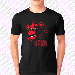 Polera Five Nights At Freddy's Game Over Grafimax