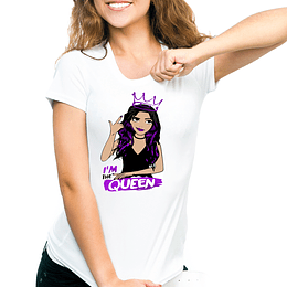 Polera I'm The Queen  - Los Polinesios