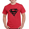 Polera Superman Blood Logo  Superhéroes Grafimax