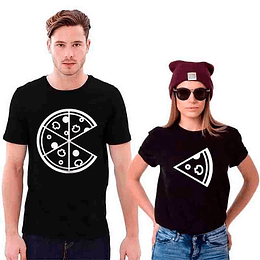 Combo Poleras Pizza Lovers
