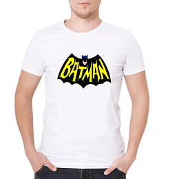 Polera Batman Vintage Retro