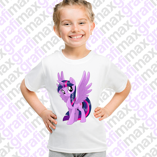 Polera Niña  Twilight Sparkle Grafimax