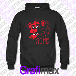 Poleron Five Nights at Freddy's GAME OVER grafimax