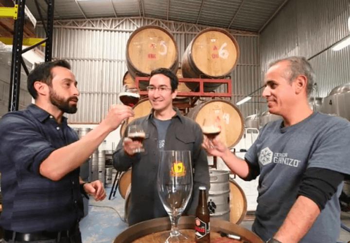 Cervezas Granizo en Canal 13: Cerveza: Otra Historia de Chile