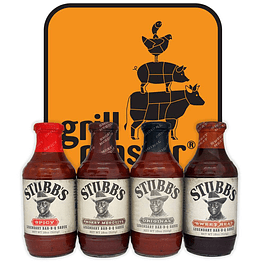 Salsas BBQ STUBB'S