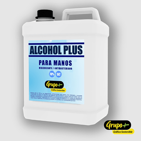 ALCOHOL GEL PLUS 70% CON ISP 159C - 40