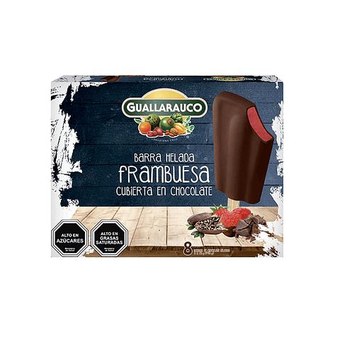 Barra Frambuesa/Chocolate 8 un x 40ml/57g
