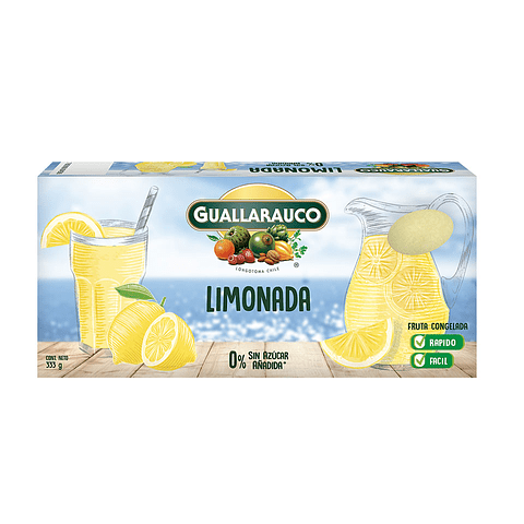 Limonada congelada 333g