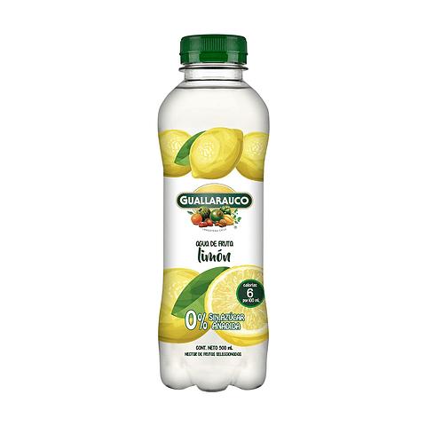 Agua de fruta Limón sin azúcar añadida 500ml