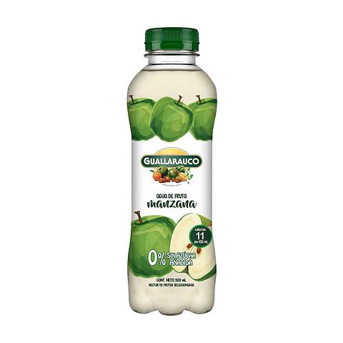 Agua de fruta Manzana sin azúcar añadida 500ml