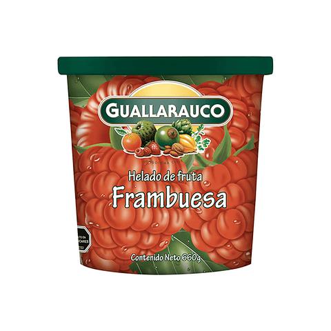 Helado Familiar Frambuesa pote 900ml/660g