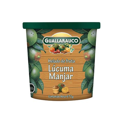 Helado Familiar Lúcuma Manjar pote 900ml/672g