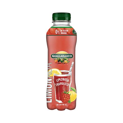 Limonada frambuesa sin azucar añadida 500ml