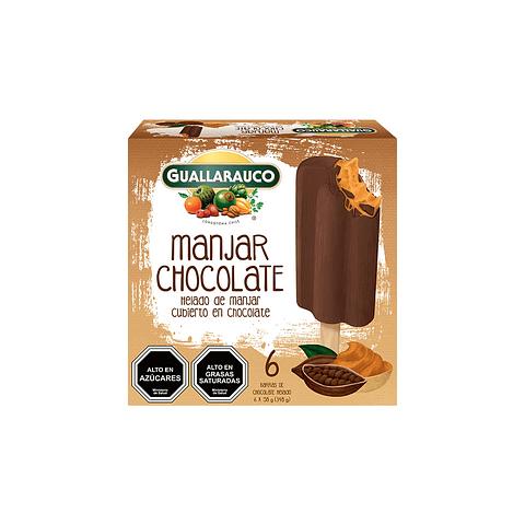 Barra Manjar Chocolate 6 X 58g