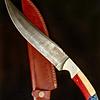 Cuchillo Damasco Modelo Guardianes - 40 cm