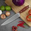 Cuchillo Acero inox Aleman, 34 cm - En caja