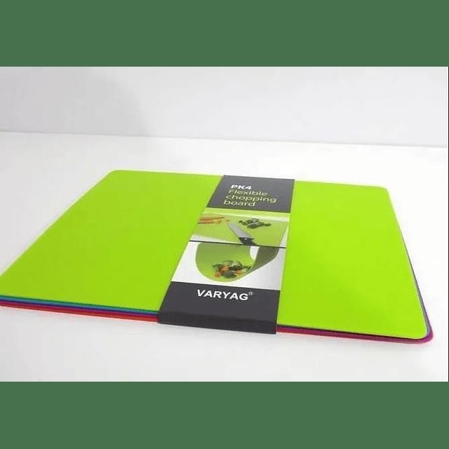 Set 4 tablas Flexibles 30x35 cm - Colores