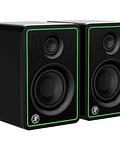 Monitores de estudio Mackie CR3-X (par), 50 watts