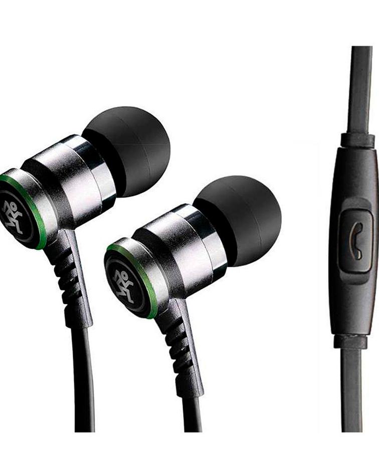 Audífonos Mackie In Ear CR-Buds, Negro