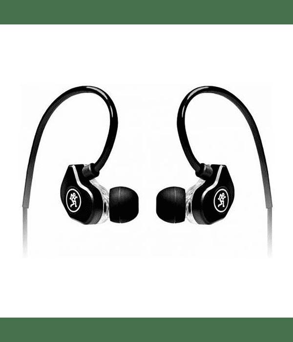 Audífonos Mackie In Ear CR-Buds Plus, Negro Doble Controlador