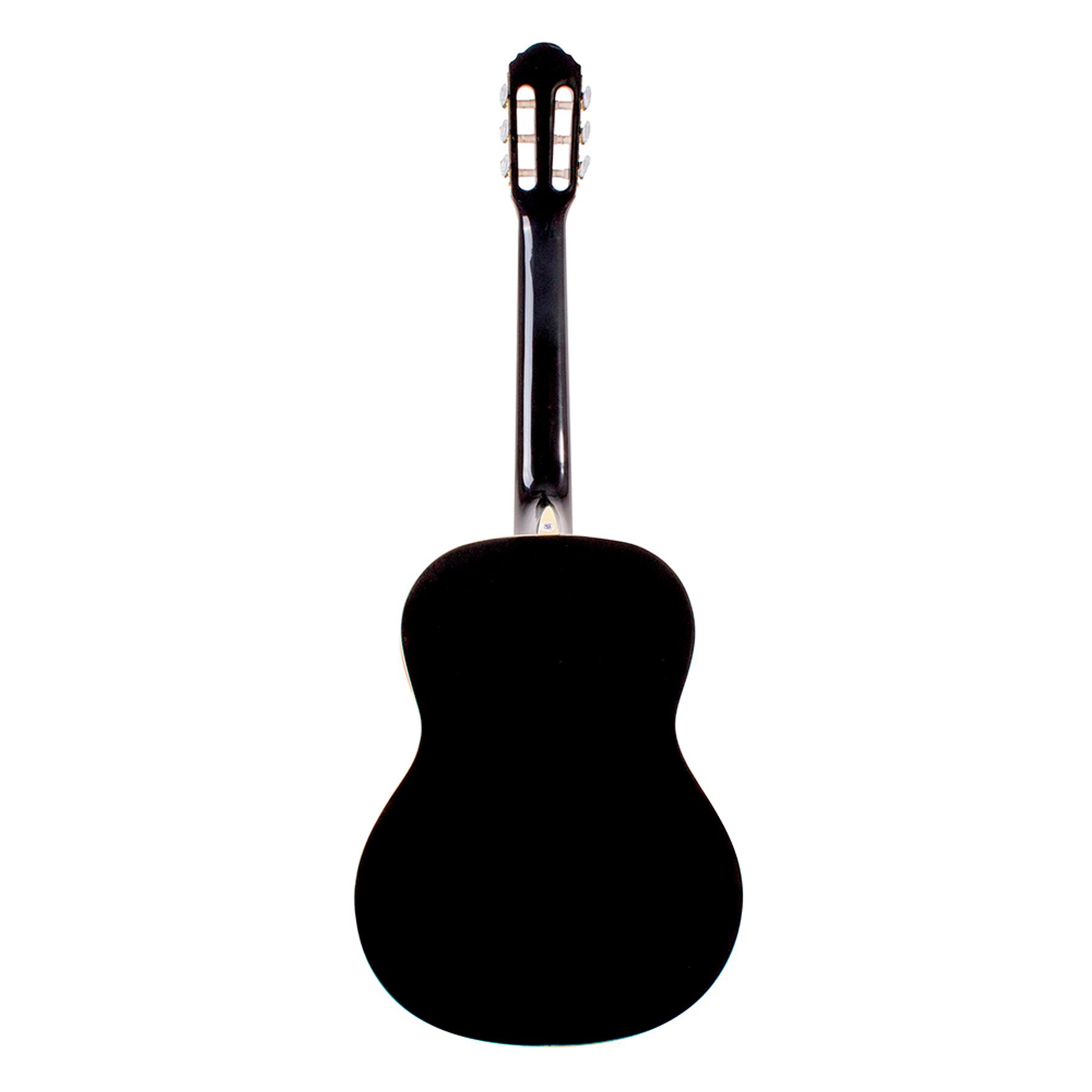 Guitarra Clásica OC9B Oscar Schmidt, color Negro
