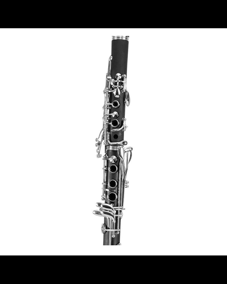 Clarinete LCLR1 Lübeck, Color Negro, 17 Tonos