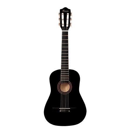 """Guitarra Clásica 30"""" MGN01 Para Niño, Color Negro"""