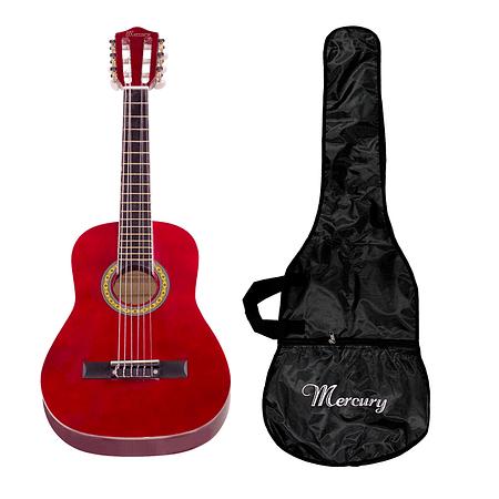 "Guitarra Clásica 30"" MGN01 Para Niño, Color Rojo"