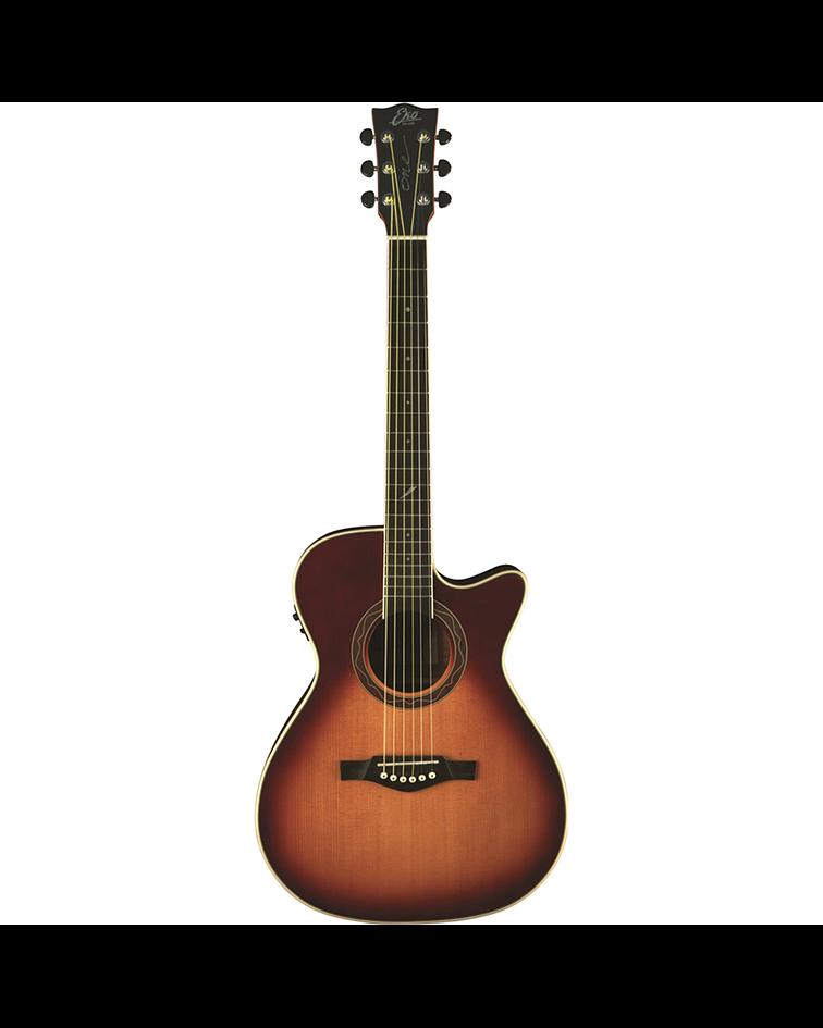 Guitarra Electroacustica ONE 018 CW EQ Vintage Burst