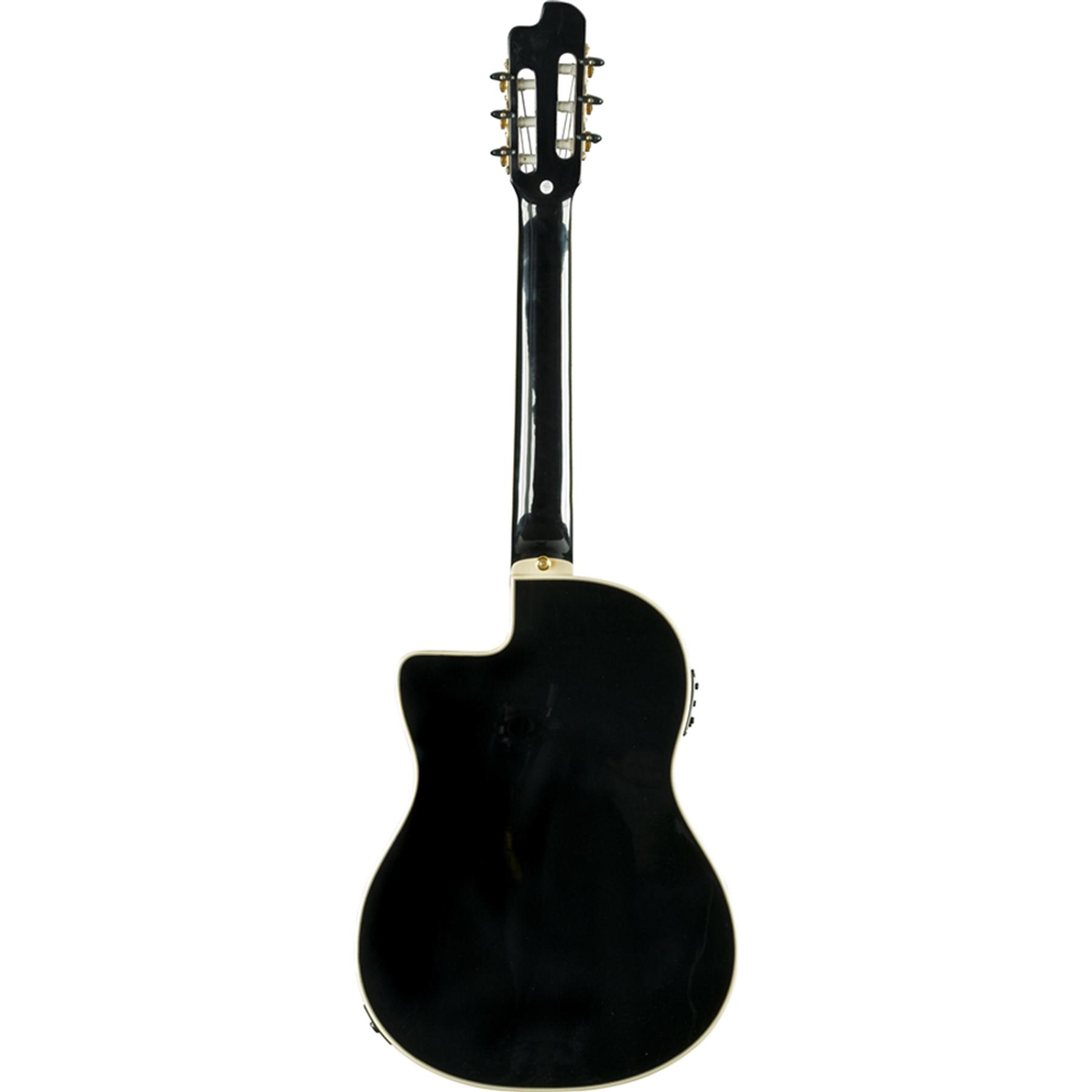 Guitarra electroacústica EKO NXT CW Negro