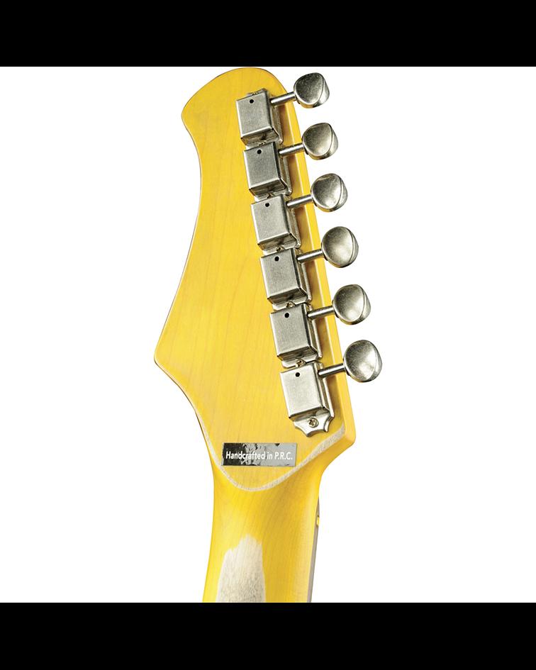 Guitarra Eléctrica S-300 Relic EKO, Sunburst