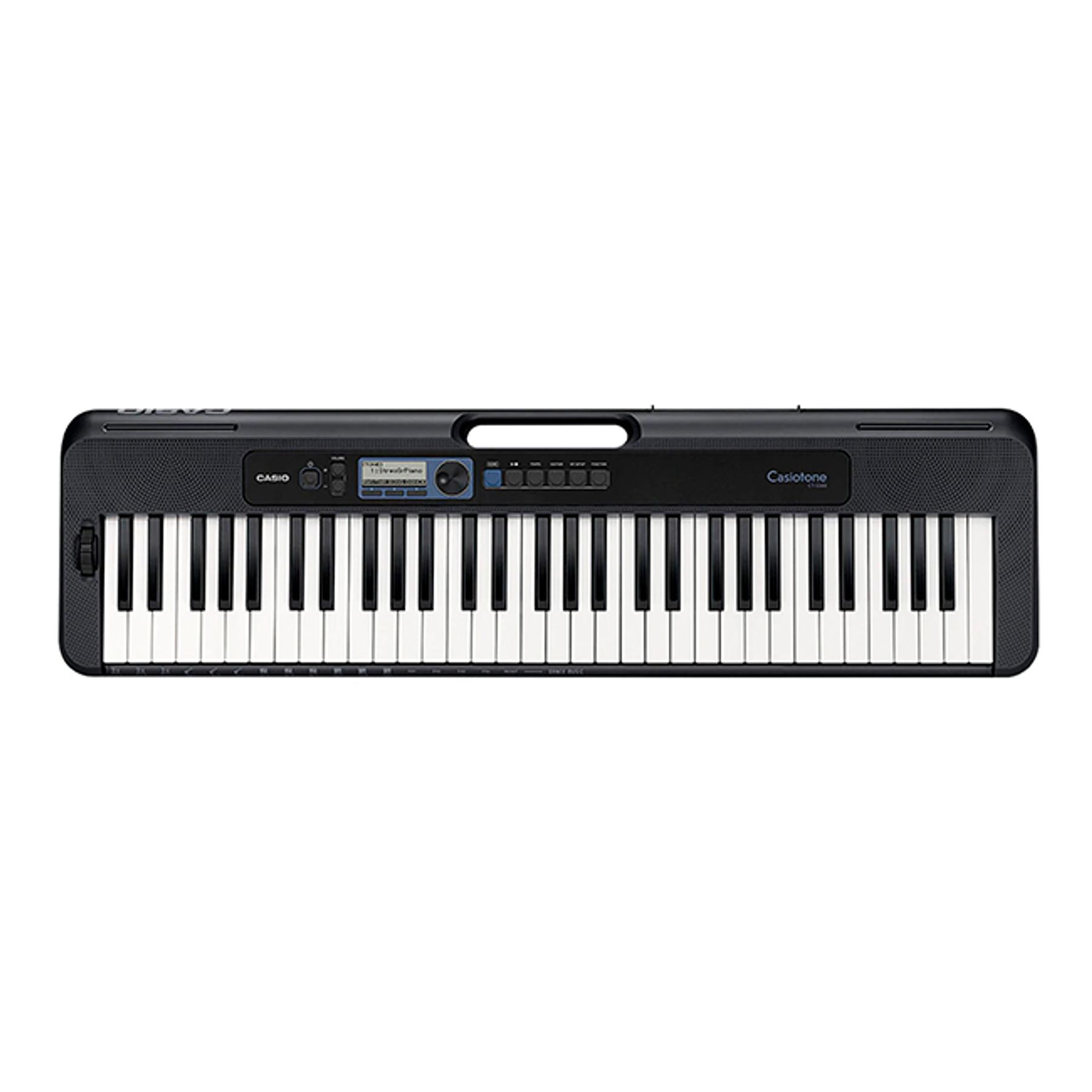 Pack teclado Casio CT-S300 + Atril + funda y Transformador Original