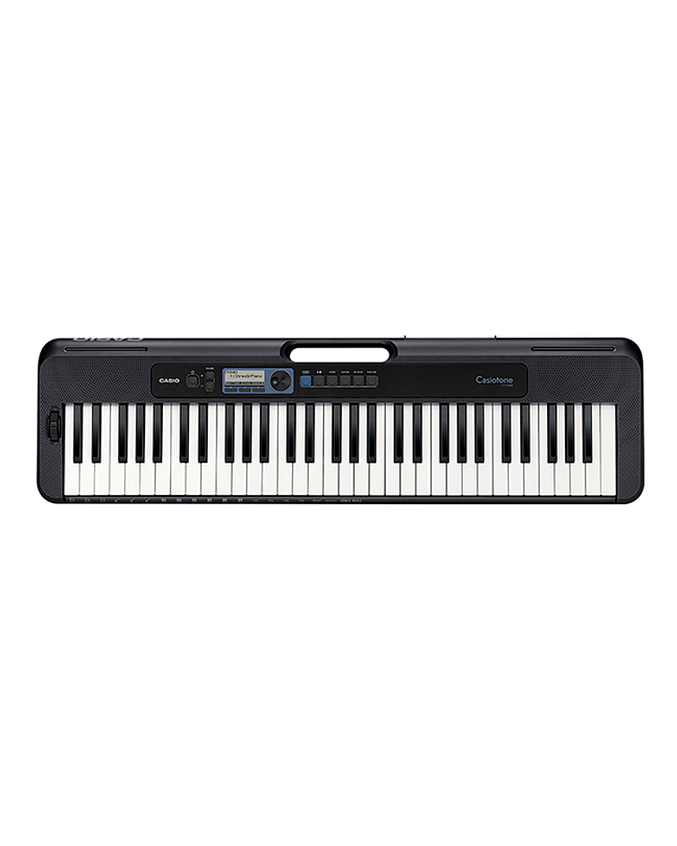 Pack teclado Casio CT-S300 + Atril + funda y Transformador Original
