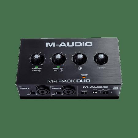 Interfaz de Audio USB M-Track Duo M-Audio