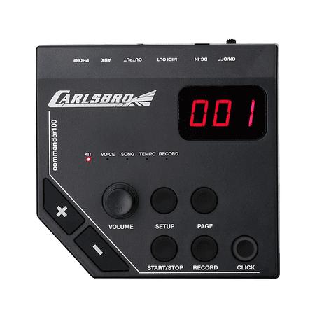 Batería Electrónica CSD-100, 7 piezas CARLSBRO