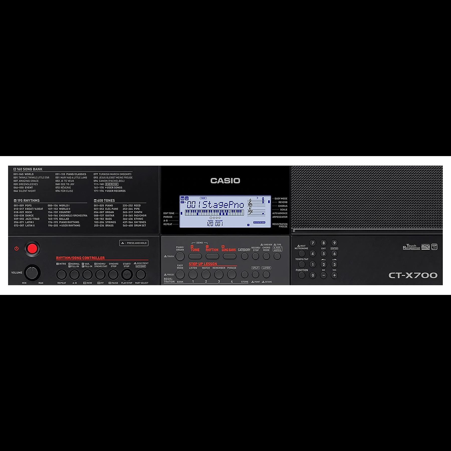 Teclado 61 Teclas CT-X700 - Casio