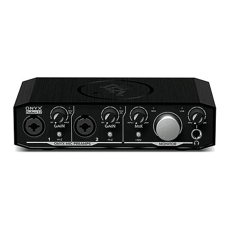 Interfaz De Audio Onix Producer 2X2 Mackie