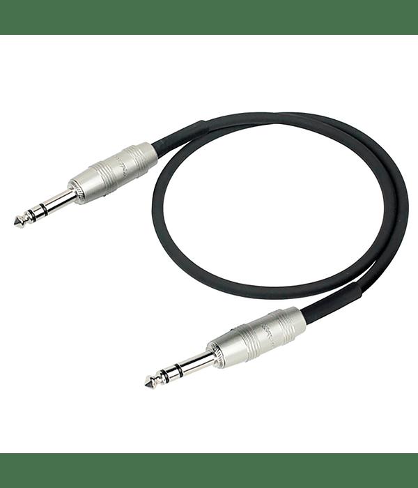 Cable de Audio KIRLIN AP-209PR Plug-Plug 1mt