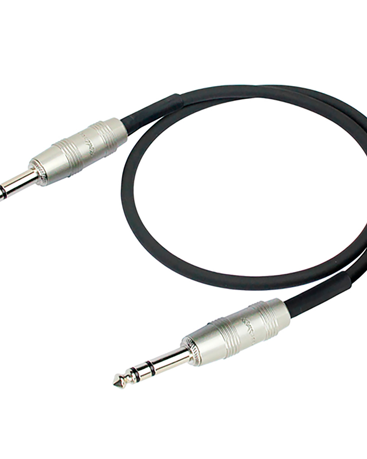 Cable de Audio KIRLIN AP-209PR Plug-Plug 1mt