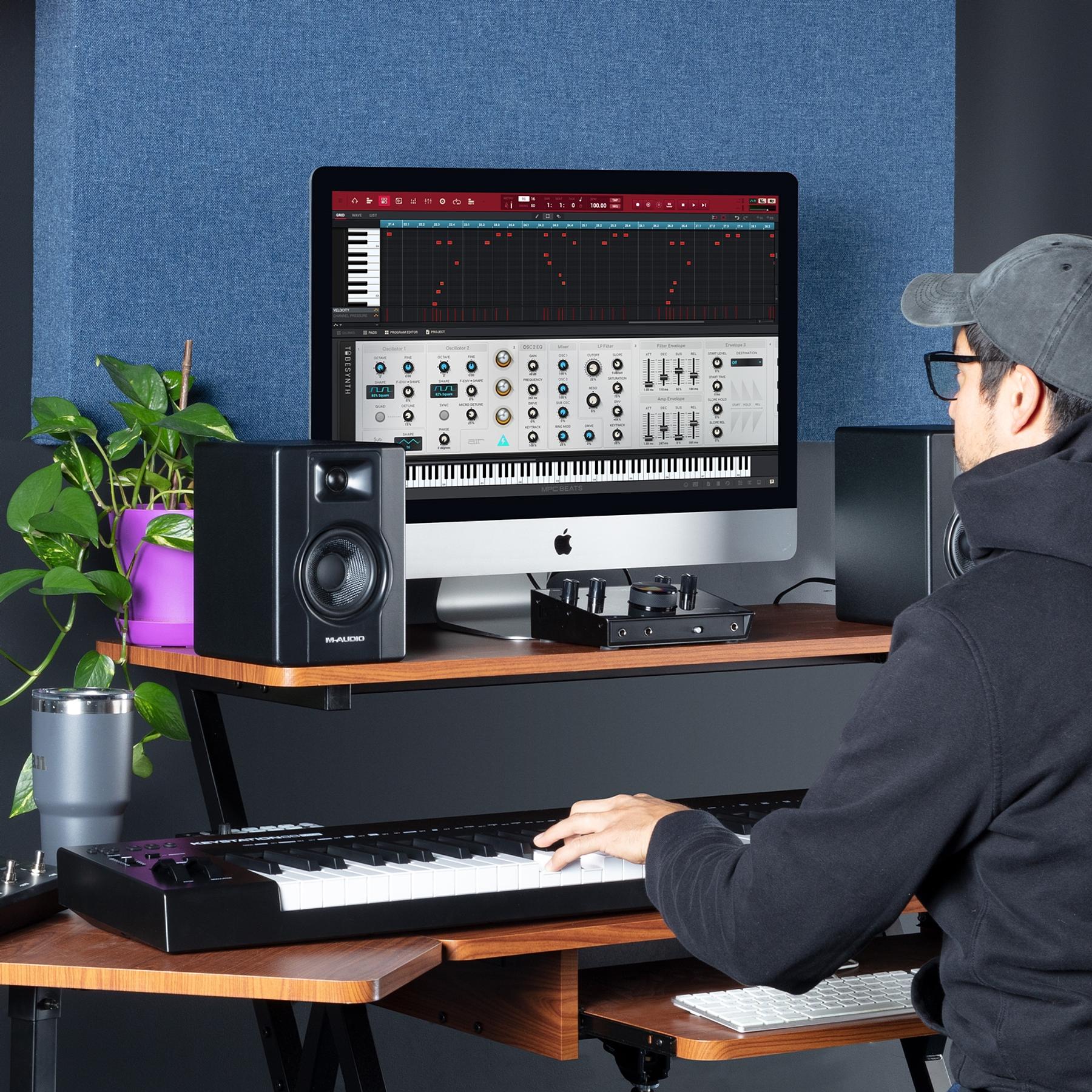 Controlador Midi Keystation 88 MK3 M-Audio