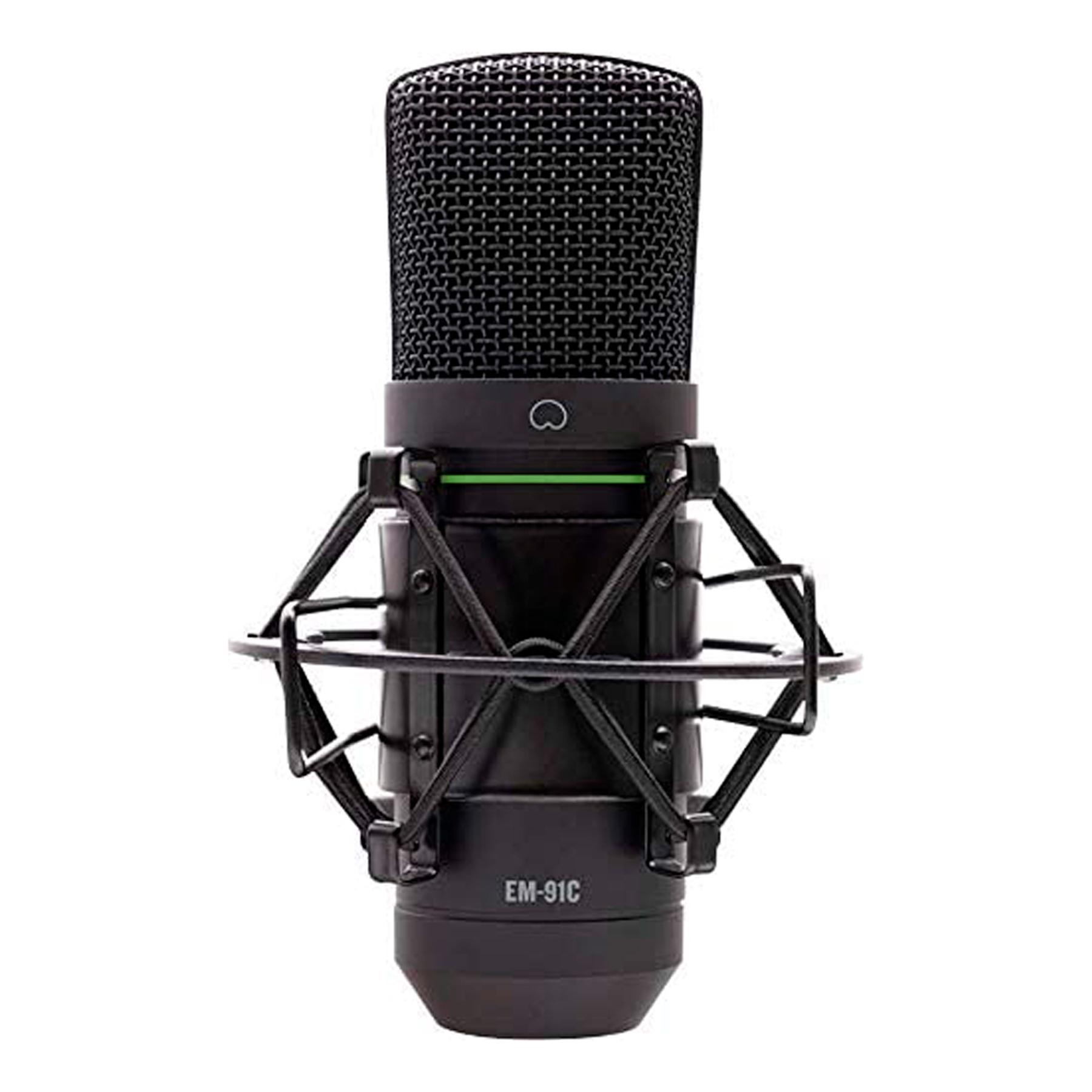 Micrófono Condensador EM-91C Diafragma Grande Mackie