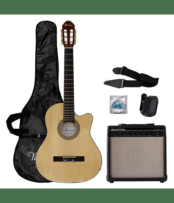 Pack Guitarra Electroacustica Mercury